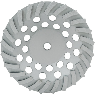 Lackmond SPPSTC7N24 SPP 7in. Turbo Diamond Cup Wheel for Concrete and Block LAC-SPPSTC7N24