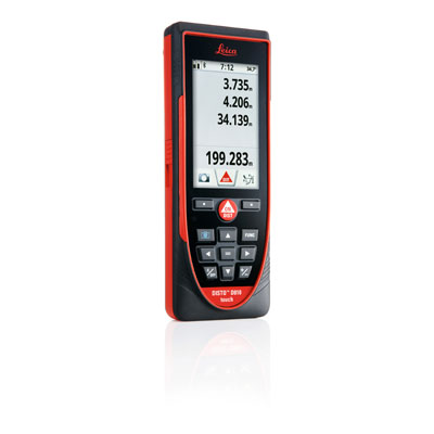 Leica Disto D810 650ft Touch Laser Distance Meter LEI-799097