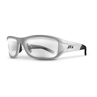 ALIAS Safety Glasses (White/Clear)