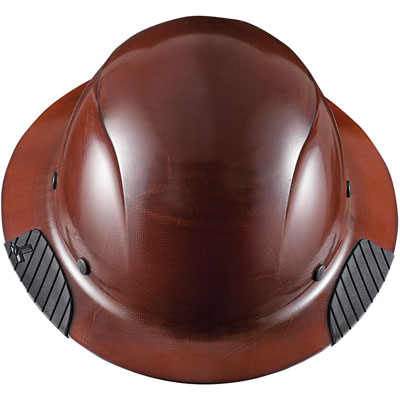 Lift Safety HDF-15NG Dax Full Brim Hard Hat Fiber Resin - Brown HDF-15NG BROWN