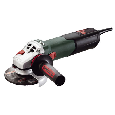 Metabo W 12-125 Quick 5in. Angle Grinder 11,000 RPM - 10.5 AMP w/Lock-on 600398420