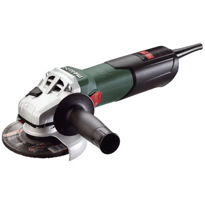 Metabo W 9-125 5in. Angle Grinder 10,500 RPM - 8.5 AMP w/Lock-on 600376420