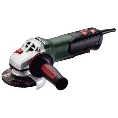 Metabo WP 9-115 Quick 4-1/2in. Angle Grinder 10,500 RPM - 8.5 AMP w/Paddle 600380420