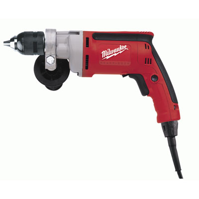 0202-20 Milwaukee Electric Tools 3/8 in. Drill, 0-1200 RPM with All Metal Chuck and Quik-Lok Cord 0202-20