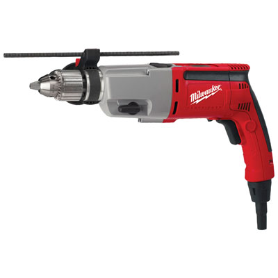 Milwaukee Electric Tool - 5387-221/2 in. Dual Speed Hammer-Drill Kit 5387-22