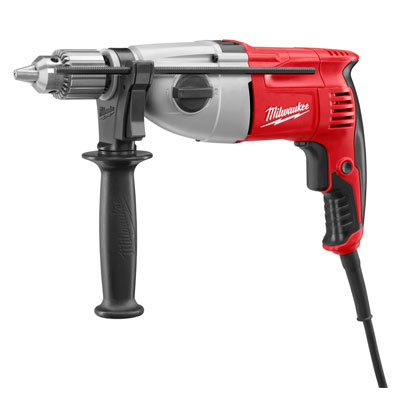 Milwaukee Electric Tool - 5378-21 1/2 in. Pistol Grip Dual Torque Hammer-Drill, 0-1350/0-3200 RPM with Case 5378-21