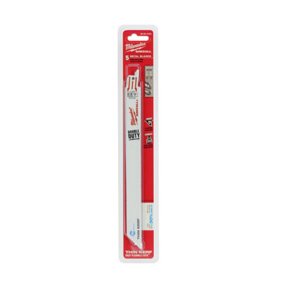 Milwaukee Electric Tools 48-00-4188 Ice Edge Sawzall Blade 18 TPI - 9in Long 48-00-4188