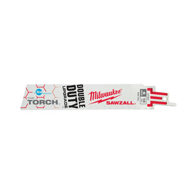 Milwaukee Electric Tools 48-01-9782 Ice Edge Sawzall Blade 14 TPI - 6in Long (50 Pack) 48-01-9782