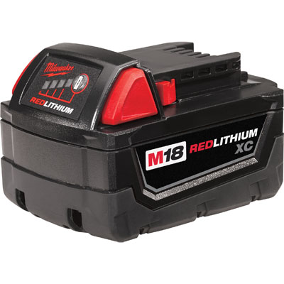 Milwaukee Electric Tools - 48-11-1828 - 18V XC High Capacity LITHIUM-ION Battery 48-11-1828