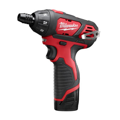 Milwaukee Electric Tool - 2401-22 12V Sub-Compact Driver Drill Kit MIP-2401 22