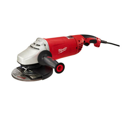 Milwaukee Electric Tool - 6088-30 7/9in Large Angle Grinder w/ Lock-On MIP-6088 30