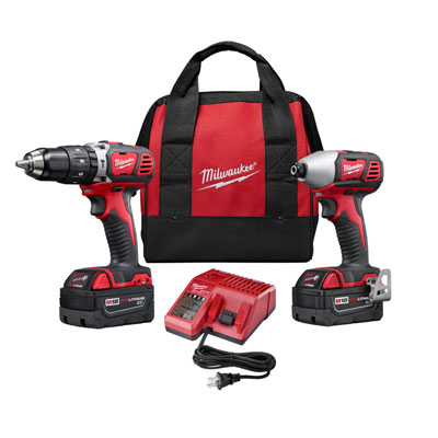 Milwaukee Electric Tool - 2697-22 M18 2-Tool Combo Kit MIP-2697 22