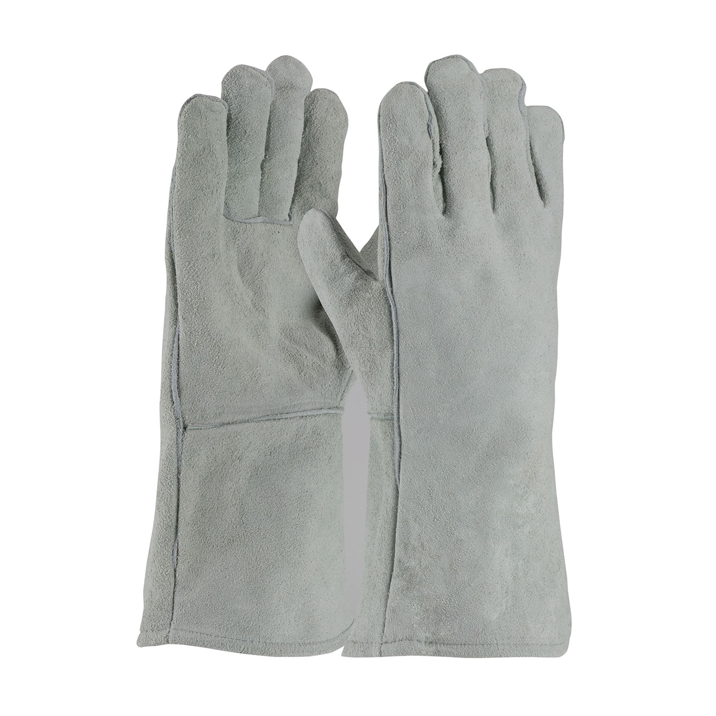 PIP 73-888 Shoulder Split Cowhide Leather Welder's Glove with Cotton Liner PID-73 888