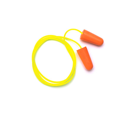 Pyramex DP1001 Ear Plugs - Corded taper fit disp plug -NRR 31db (Box of 100 Pairs) DP1001