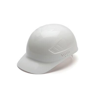 Pyramex HP40010 Bump Cap - Bump Cap White (Box of 16) HP40010