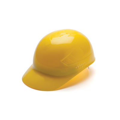 Pyramex HP40030 Bump Cap - Bump Cap Yellow (Box of 16) HP40030