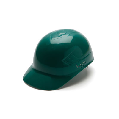 Pyramex HP40035 Bump Cap - Bump Cap Green (Box of 16) HP40035