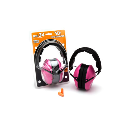Pyramex VGPM9010PC PINK 9010 Ear Muffs NRR 26dB  VGPM9010PC