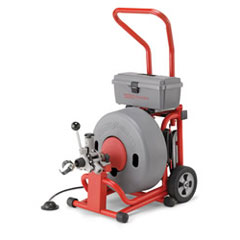 ridgid k 6200 w c 24 iw drum machine for 3in to 6in drain sewer lines 115v jim slims. Black Bedroom Furniture Sets. Home Design Ideas