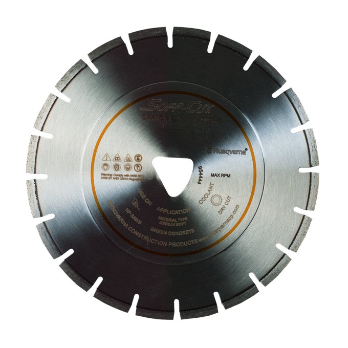 Soff-Cut FLX Series Early Entry Diamond Blades