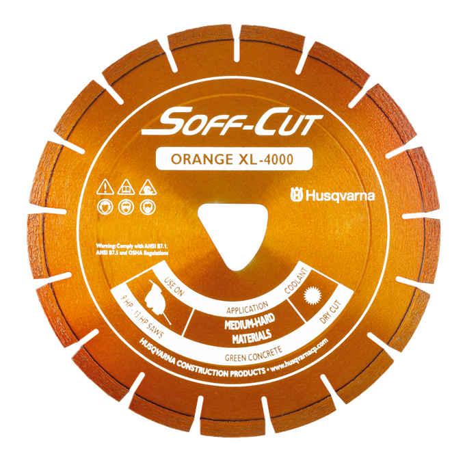 Soff-Cut Paver Series Diamond Blades