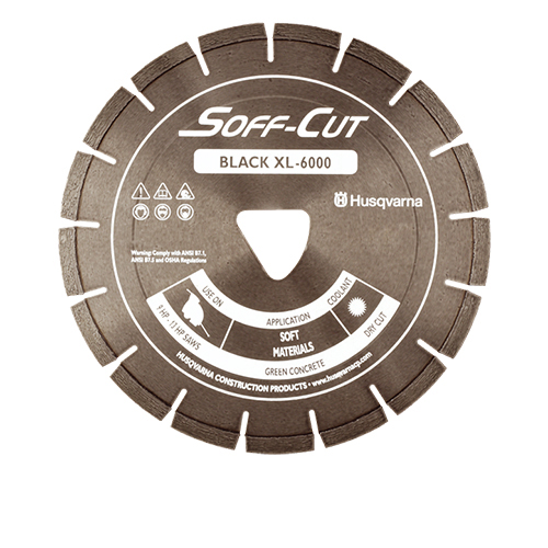Soff-Cut - PV14-6000 - 14in. x .120Ultra Early Entry Diamond Blade [542756175] PV14-6000