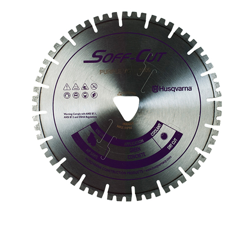 Soff-Cut VC10-1000 Vari-Cut Purple 10in x .100 Diamond Blade - 10 Pack 587628304