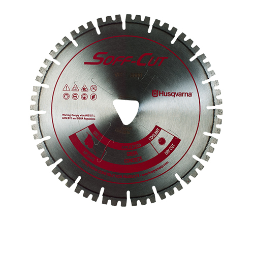 Soff-Cut VC14S14-3000 Vari-Cut Red 13-1/2in x .250 Diamond Blade 587668209