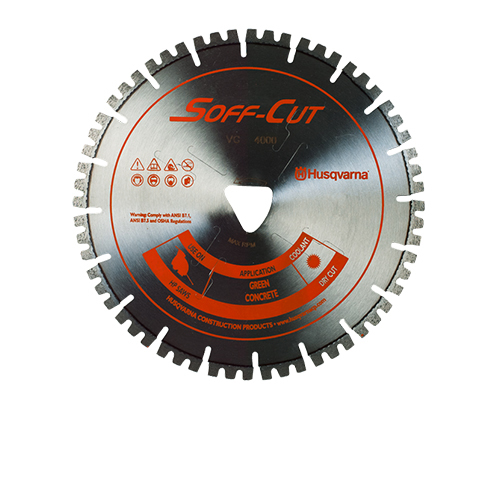 Soff-Cut VC6.5-4000 Vari-Cut Orange 6.5in x .100 Diamond Blade 582854401
