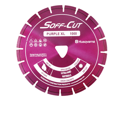Soff-Cut - XL12S38-1000 - 12in. x .380 Ultra Early Entry Diamond Blade [542756273] XL12S38-1000