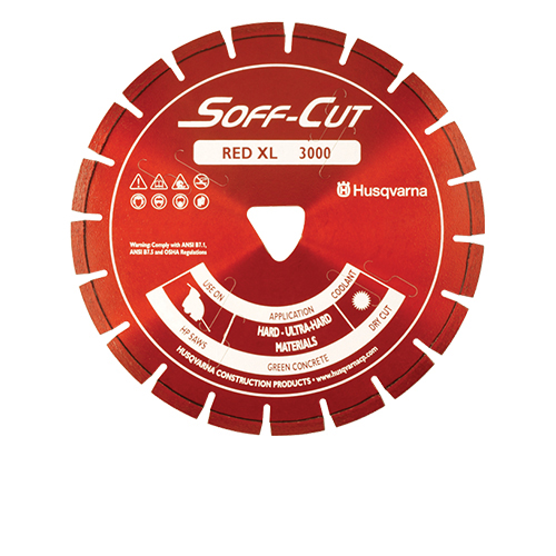Soff-Cut - XL12S50-3000 - 12in. x .500 Ultra Early Entry Diamond Blade XL12S50-3000