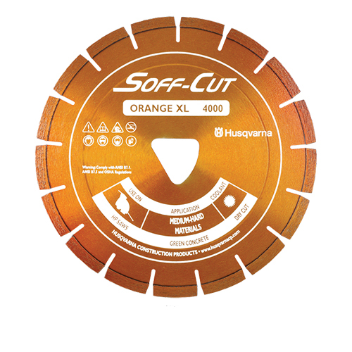 Soff-Cut - XL12S22-4000 - 12in. x .220Ultra Early Entry Diamond Blade [542756111] XL12S22-4000