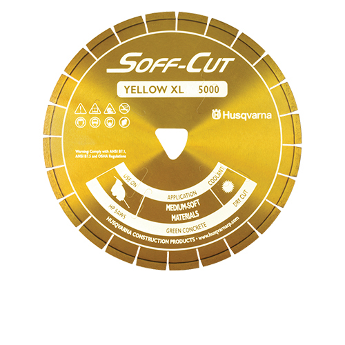 Soff-Cut - XL12S50-5000 - 12in. x .500 Ultra Early Entry Diamond Blade XL12S50-5000