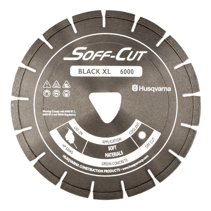 Soff-Cut Excel Series Early Entry Diamond Blades