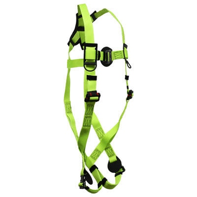 Safewaze FS77225-UT-3QC Arc-Flash Fall Protection Harness with 1 D-Ring - Large FFS-FS77225UT3QCL