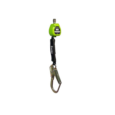 Safewaze FS-EX2006-W-RBH 6ft. Web Retractable with Steel Rebar Hook (Class A) FS-EX2006-W-RBH