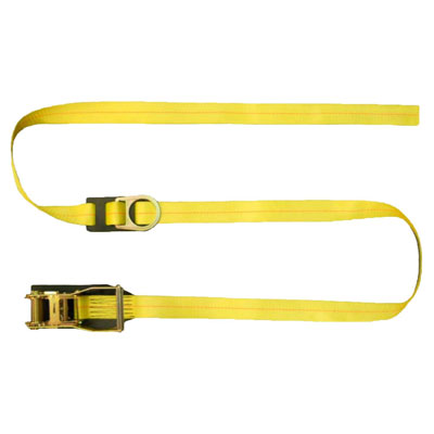 Safewaze FS-EX400-15 15ft. Ratchet Fall Protection Anchor Strap with D-Ring FS-EX400-15