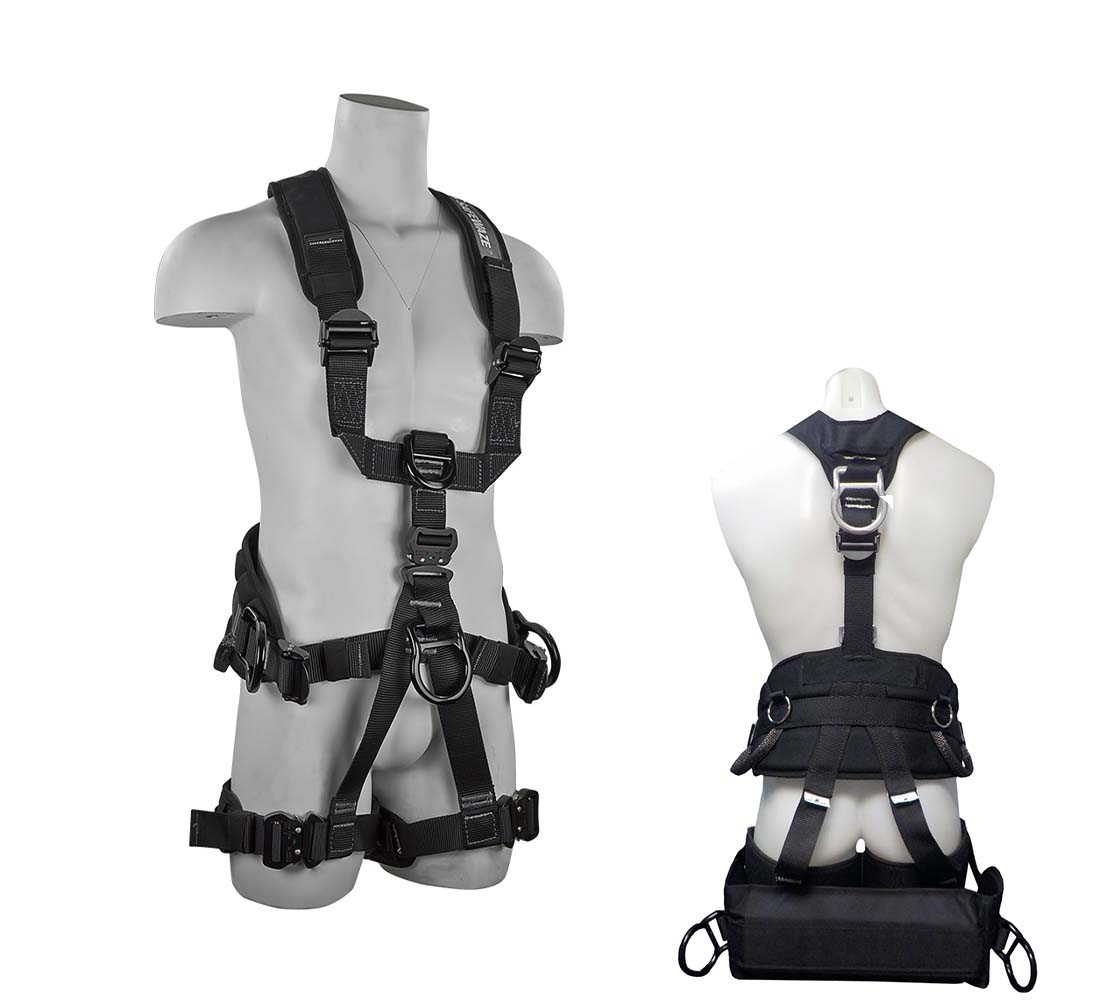 Safewaze FS227-T PRO+ Tower Erection Fall Protection Harness with 7 D-Rings - Large/X-Large FS227-T-L/XL