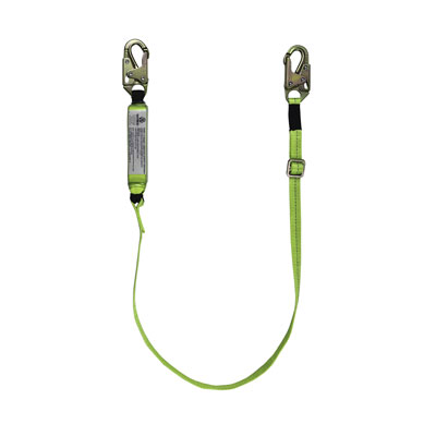 Safewaze FS560-AJ Adjustable high Profile Energy Absorbing Lanyard FFS-FS560AJ