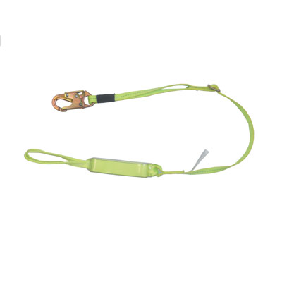 Safewaze FS560-SE-AJ 4-6ft. Adjustable Energy Absorbing Lanyard with Soft Eye on one end FS560-SE-AJ