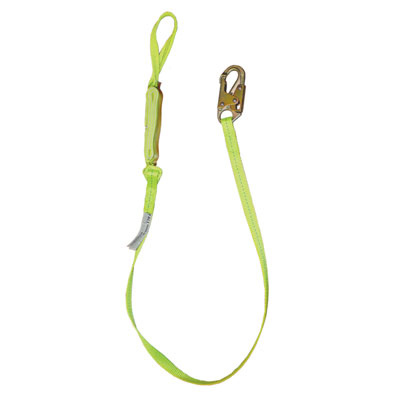 Safewaze FS560-SE 6ft. Energy Absorbing Lanyard with Soft Eye on one end FS560-SE