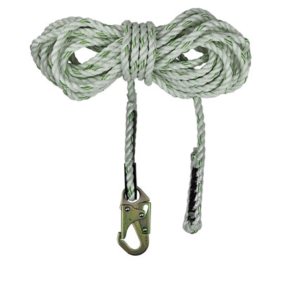 Safewaze FS700-75 75ft x 5/8in. Polyester-dacron, 3-Strand Twisted Rope Lifeline FS700-75