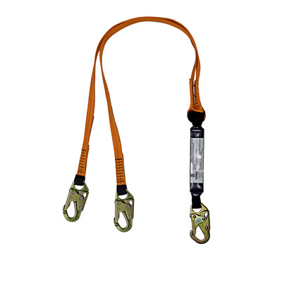 Dual Leg Fall Protection Lanyards