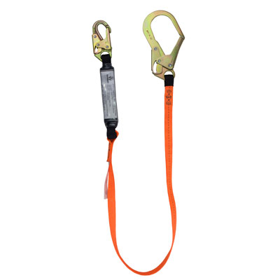 Fall Protection Lanyards with Rebar Hooks