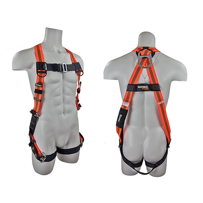Safewaze FS99185-E V-LINE Fall Protection Harness with 1 D-Ring - Universal FFS-FS99185 E