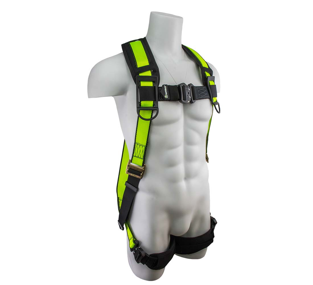 Safewaze SW280-QC PRO Vest Fall Protection Harness with Quick Connect and 1 D-Ring - Small/Medium SW280-QC-S/M