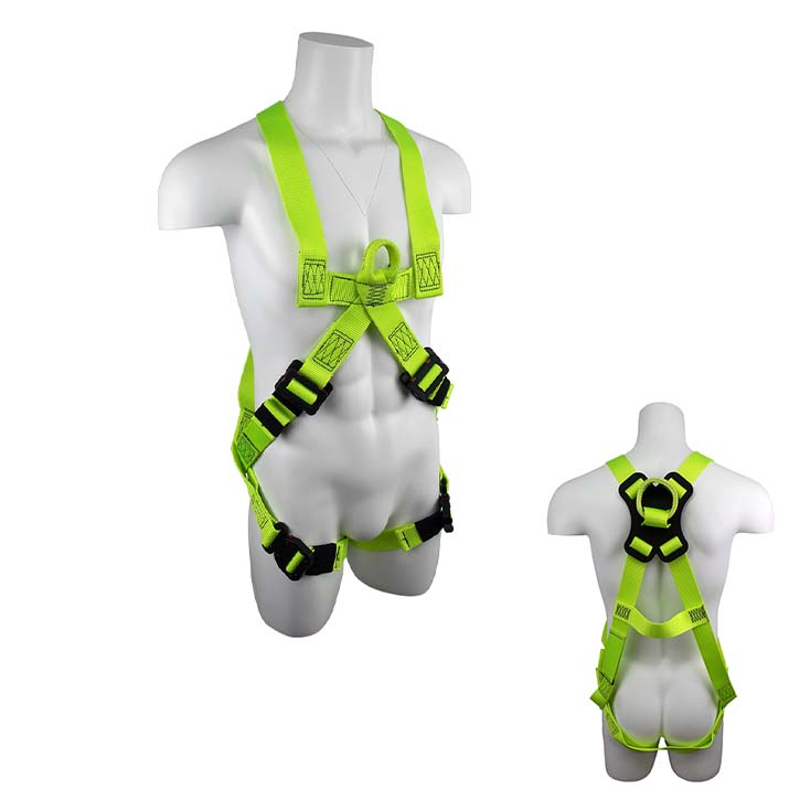 Safewaze SW77125-UT-QC-SL PRO+ Arc-Flash Pullover Fall Protection Harness with Soft loop back D-ring - Small SW77125-UT-QC-SL-S