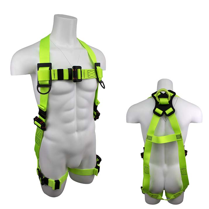 Safewaze SW77225-UT-2QC-SL PRO+ Arc-Flash QC Fall Protection Harness with  Soft Loop Back D-Ring - Large