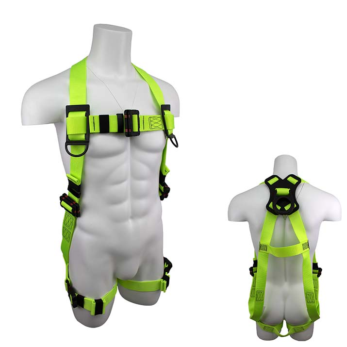 Safewaze SW77225-UT-QC PRO+ Arc-Flash Pass Through Chest Fall Protection Harness with 1 D-Ring - Large SW77225-UT-QC-L