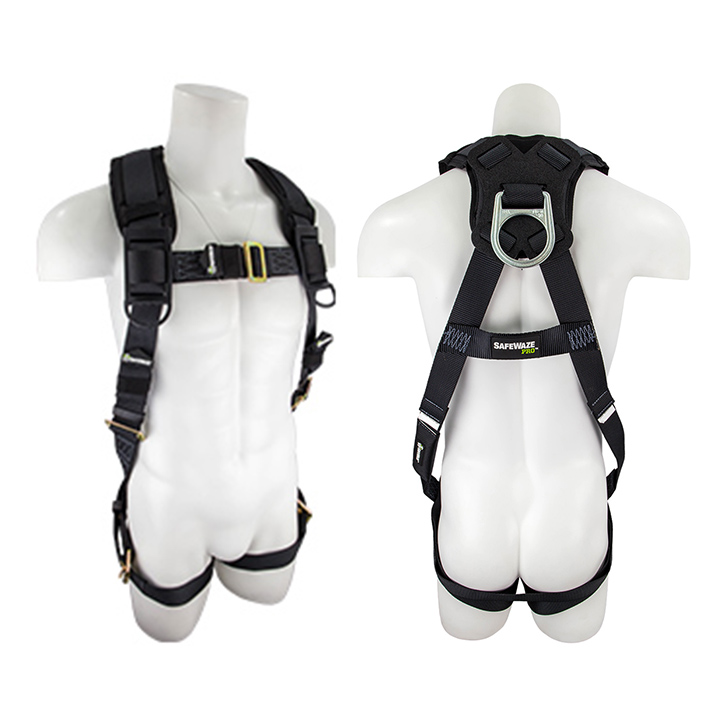 Safewaze SW99281-HW PRO Heavy Weight Fall Protection Harness with 1 D-Ring - XXX-Large FFS-FS99281HW